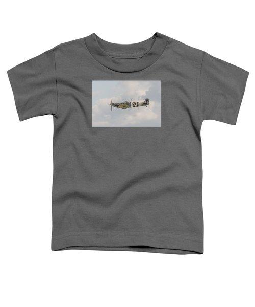 Spitfire Mk Vb Toddler T-Shirt by Gary Eason