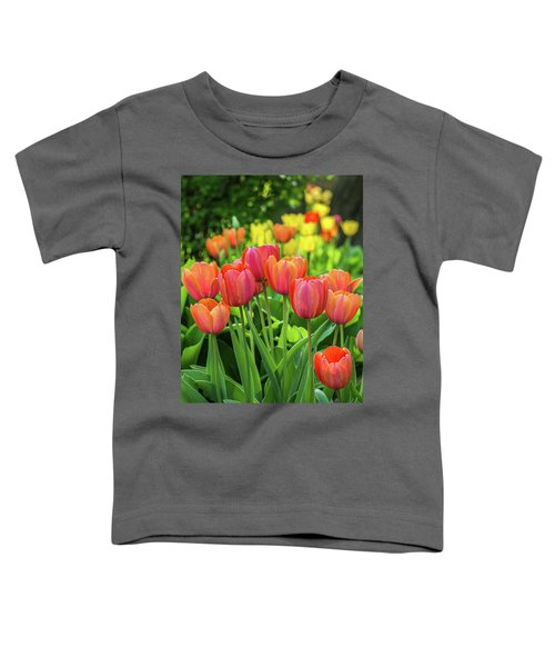 Toddler T-Shirt featuring the photograph Splash Of April Color by Bill Pevlor