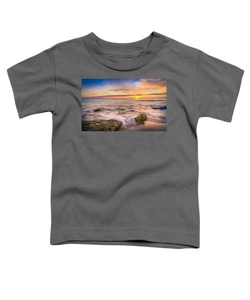 Splashing Waves. Toddler T-Shirt