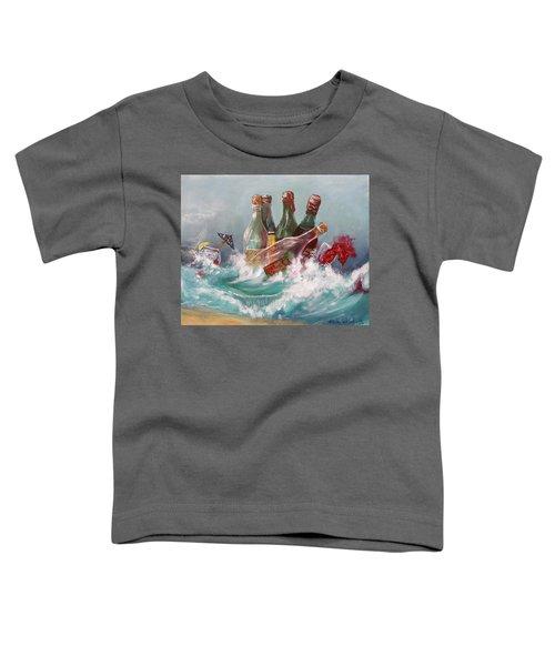 Splattered Wine Toddler T-Shirt