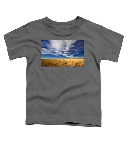 Toddler T-Shirt featuring the photograph Splendid Isolation by Carl Young