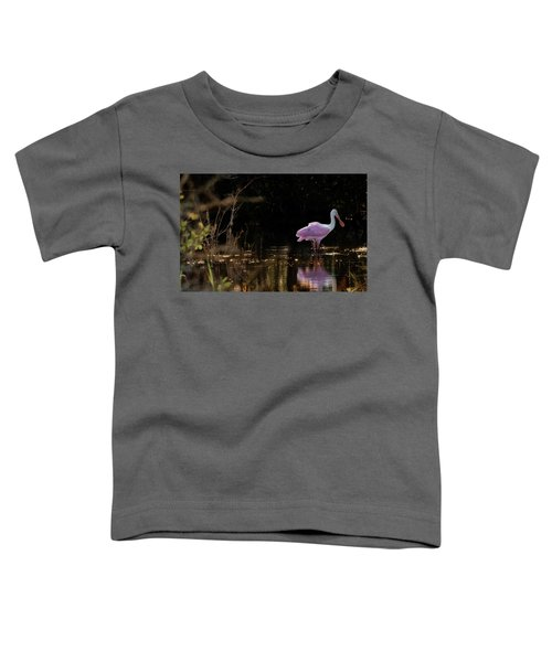 Spoonbill Fishing For Supper Toddler T-Shirt