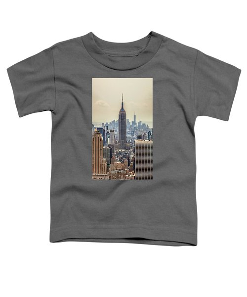Sprawling Urban Jungle Toddler T-Shirt by Az Jackson