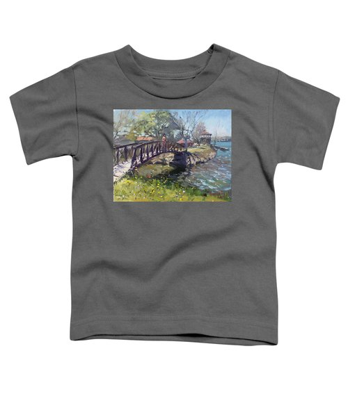 Spring At Niawanda Park Toddler T-Shirt