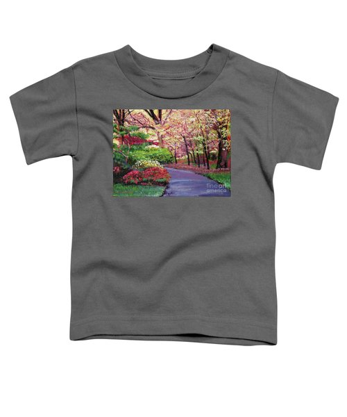 Spring Blossoms Impressions Toddler T-Shirt