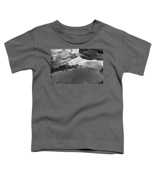 Spring Clouds Puddle Reflection Toddler T-Shirt
