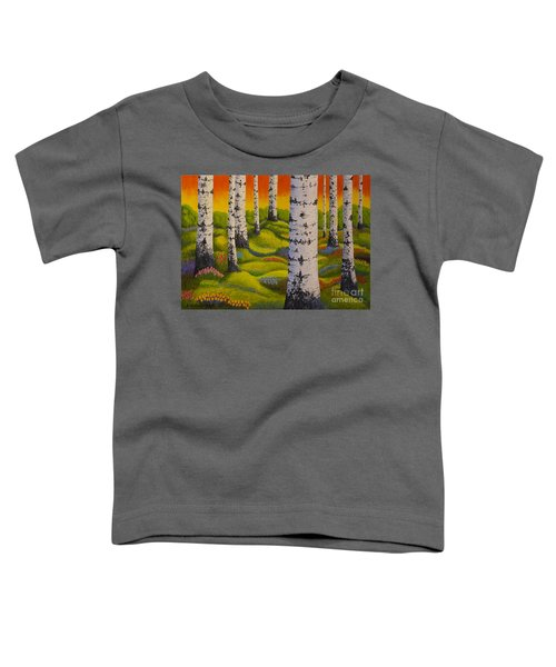 Spring Forest Toddler T-Shirt