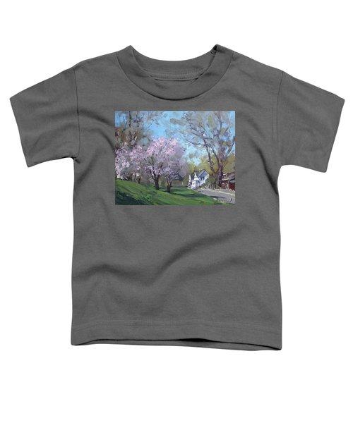 Spring In J C Saddington Park Toddler T-Shirt