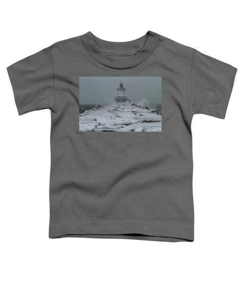 Spring Point Ledge Light Blizzard  Toddler T-Shirt