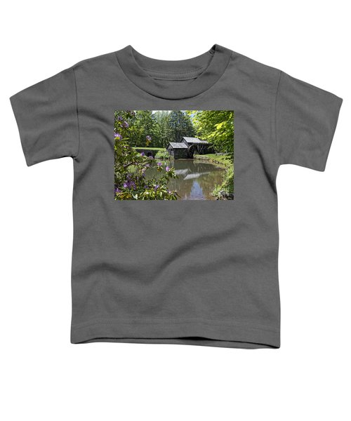 Spring Reflections Of An Ancient Mill Toddler T-Shirt