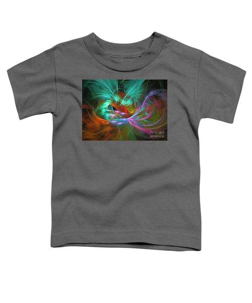 Spring Riot - Abstract Art Toddler T-Shirt