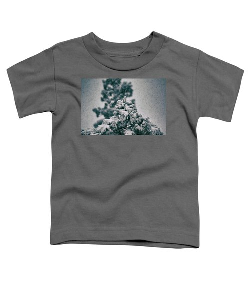Spring Snowstorm On The Treetops Toddler T-Shirt