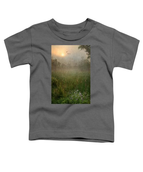 Spring Sunrise In The Valley Toddler T-Shirt