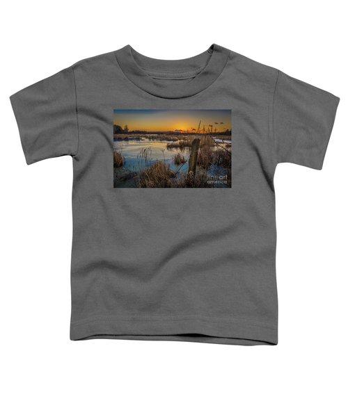 Spring Sunset Toddler T-Shirt