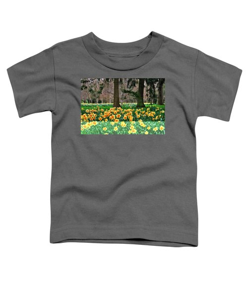 Spring Woodland Daffodils Toddler T-Shirt
