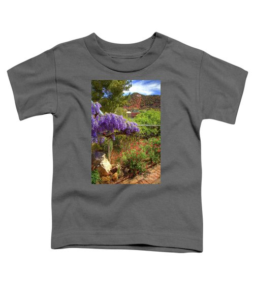 Springtime In Old Bisbee Arizona Toddler T-Shirt