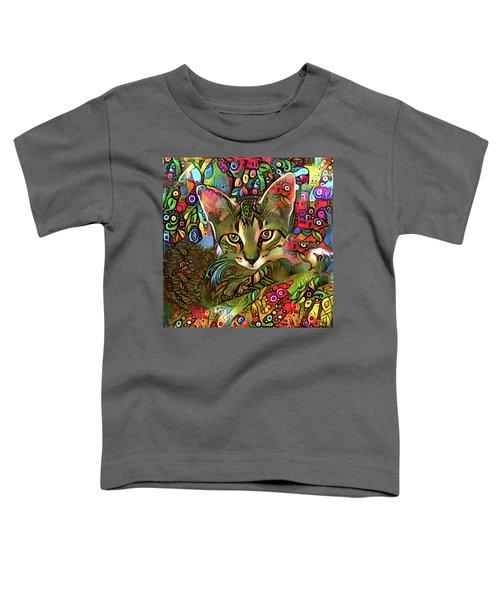 Sprocket The Tabby Kitten Toddler T-Shirt