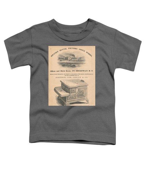Spuyten Duyvil Stoveworks  Toddler T-Shirt by Cole Thompson