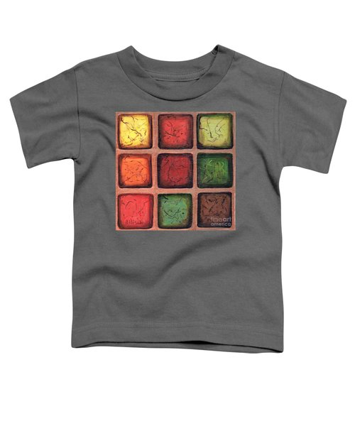 Squared In Bronze Toddler T-Shirt