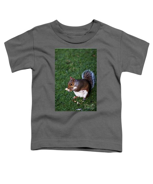 Squirrel Eating Toddler T-Shirt