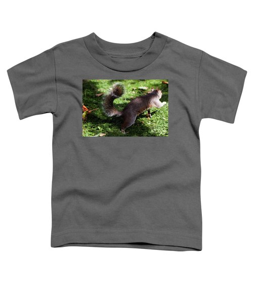 Squirrel Running Toddler T-Shirt