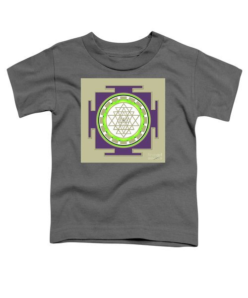 Sri Yantra Of Prosperity Toddler T-Shirt