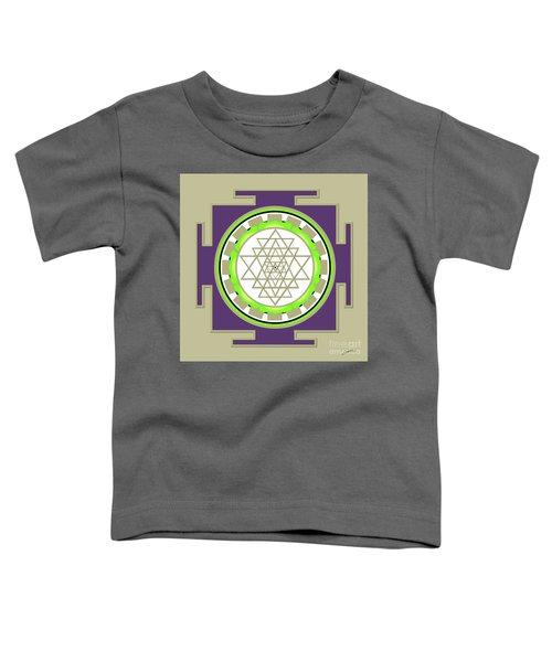 Sri Yantra Of Prosperity Toddler T-Shirt