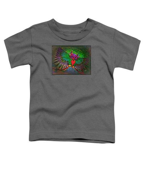 Ss Owl Toddler T-Shirt