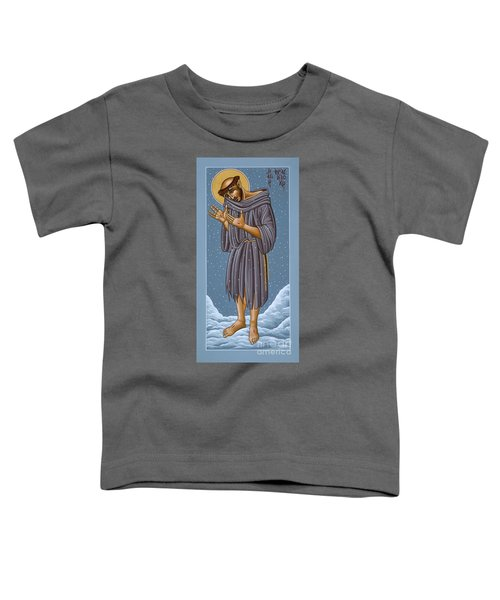 St Francis Wounded Winter Light 098 Toddler T-Shirt