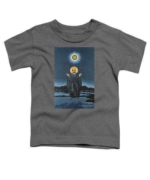 St. Ignatius In Prayer Beneath The Stars 137 Toddler T-Shirt