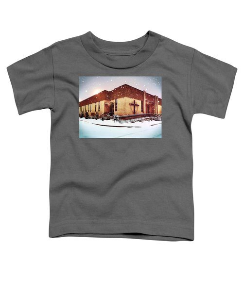 St. Isaac Jogues In The Snow Toddler T-Shirt