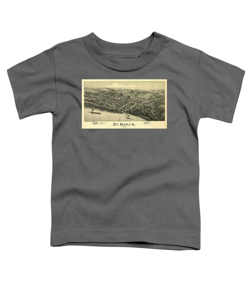 St. Mary's, West Virginia 1899 Toddler T-Shirt