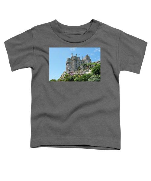 St Michael's Mount Castle Toddler T-Shirt