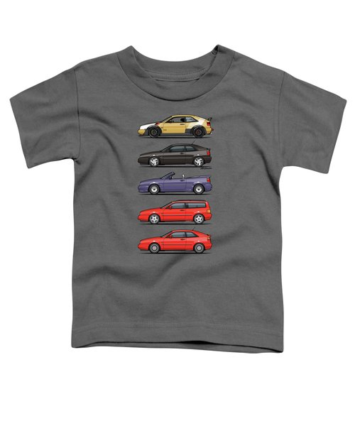 Stack Of Vw Corrados Toddler T-Shirt