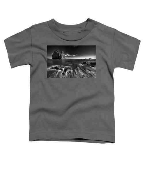 Stacks In Olympic Toddler T-Shirt by Jon Glaser