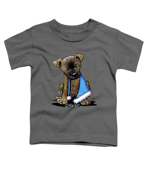 Staffordshire Bull Terrier Brindle Pup Toddler T-Shirt