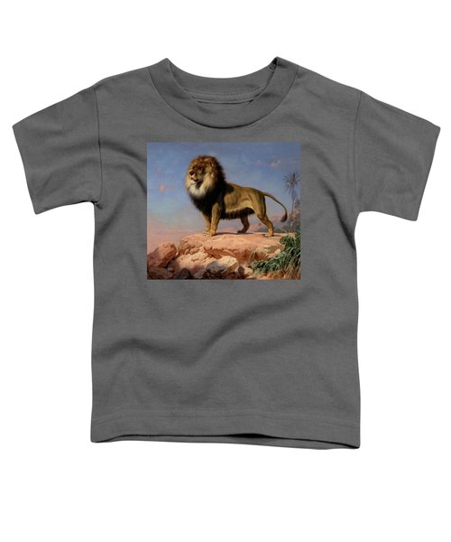 Standing Lion Toddler T-Shirt