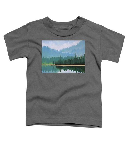 Stanley Lake - Far Shore Toddler T-Shirt
