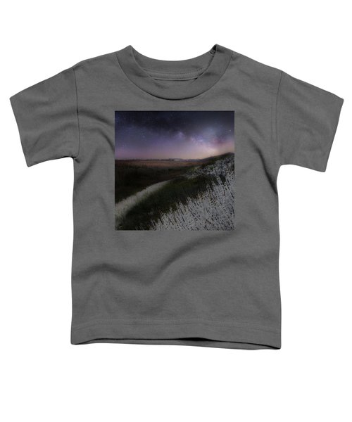 Toddler T-Shirt featuring the photograph Star Flowers Square by Bill Wakeley