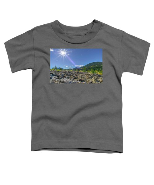 Star Over Creek Bed Rocky Mountain National Park Colorado Toddler T-Shirt