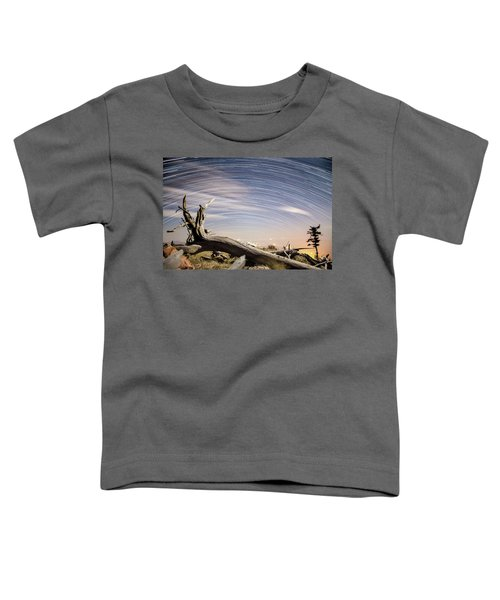 Star Trails By Fort Grant Toddler T-Shirt