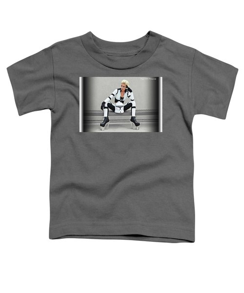 Star Wars By Knight 2000 Photography- Clone Trooper Toddler T-Shirt