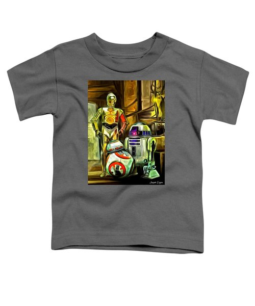 Star Wars Droid Family Toddler T-Shirt
