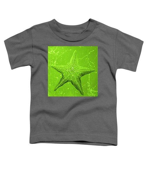 Starfish In Green Toddler T-Shirt
