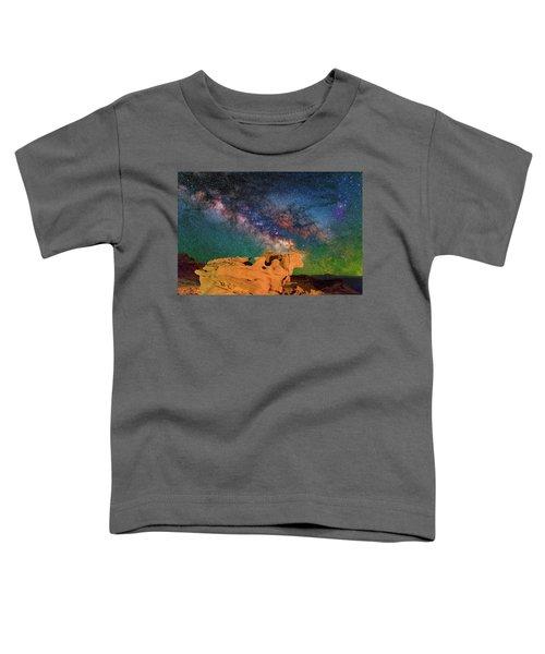 Stargazing Bull Toddler T-Shirt