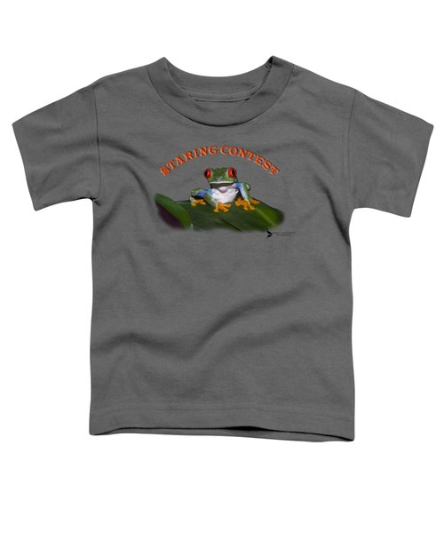 Staring Contest Toddler T-Shirt