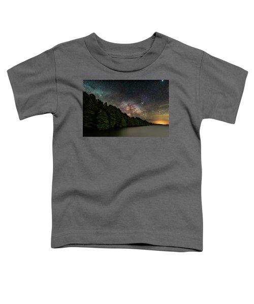 Starlight Swimming Toddler T-Shirt