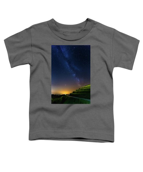 Starry Sky Above Me Toddler T-Shirt