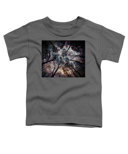 Starry Sky In The Forest Toddler T-Shirt