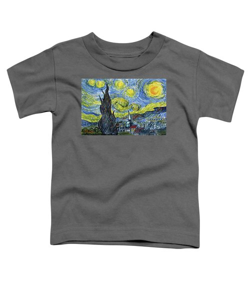 Starry, Starry Night Toddler T-Shirt